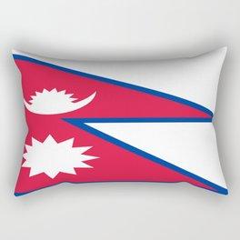 Flag of Nepal Rectangular Pillow