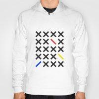 minimalism Hoodies featuring Minimalism 3 by Mareike Böhmer
