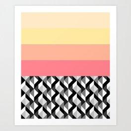 Maze Run Art Print