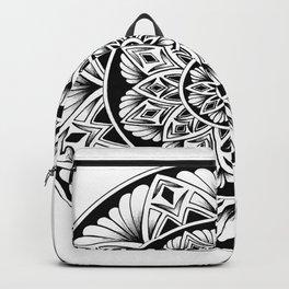 Mandala flower Backpack