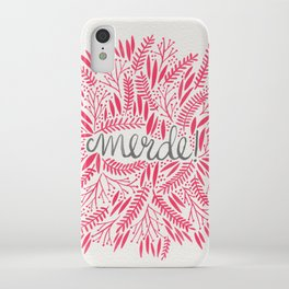 Pardon My French – Pink iPhone Case