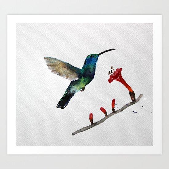 Messenger 007  Art Print