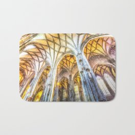 St Stephens Cathedral Vienna Art Bath Mat