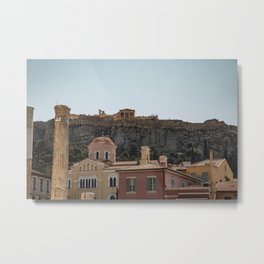 Acropolis, Athens, Greece Metal Print