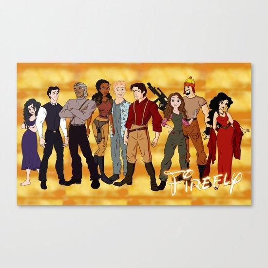 Disney Shinies! Canvas Print