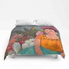 Frida a la casa azul Comforters