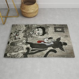 BETTY AND THE WOLF Rug