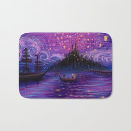 The Lantern Scene Bath Mat