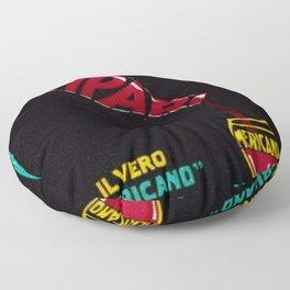 Vintage Bitter Campari 'IL Vero Americano' Advertisement Print Floor Pillow