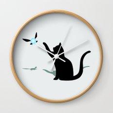 Cat and Navi Wall Clock