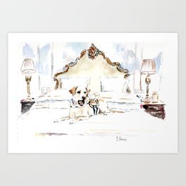 Sully at the Plaza Art Print