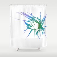 alchemy Shower Curtains featuring Alchemy Experiment 1 by garciarts