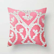 Always wear your invisible Crown Throw Pillow