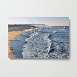 Lands End Beach Metal Print