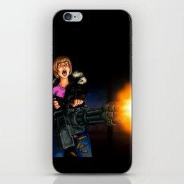 gatling girl iPhone Skin