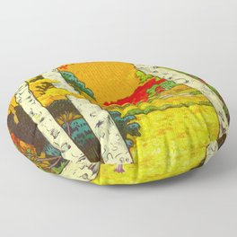 Home at Syin Floor Pillow