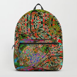 Deep And Lush Mandala Backpack