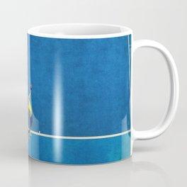 Novak Djokovic Tennis Serving Coffee Mug