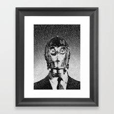 C3PO Framed Art Print