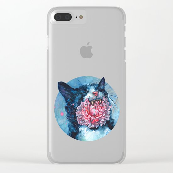 Yawn Clear iPhone Case
