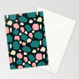 abstract paint swatches Stationery Cards
