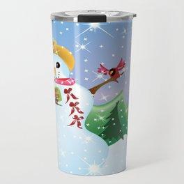 """Snow Friends"" Travel Mug"