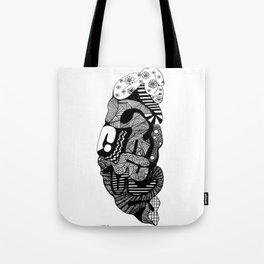 The Creative Side - Brain Tote Bag