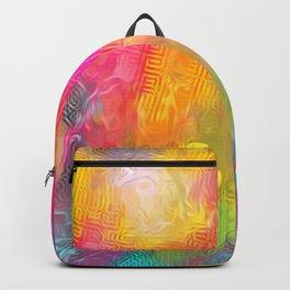Orange Blizz Backpack