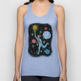 Illusion of existence Unisex Tank Top