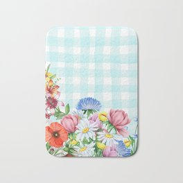 Fabulous Flowers Bath Mat
