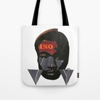 childish gambino Tote Bags featuring Childish Gambino by American Cut