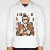 tenenbaum Hoodies featuring Richie Tenenbaum by The Art Warriors