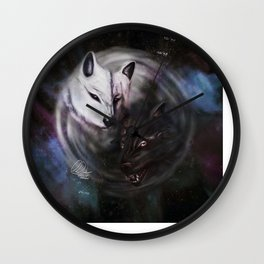 Feed The Wolves 2017 Wall Clock