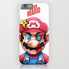 Beat Up Mario Slim Case iPhone 6s