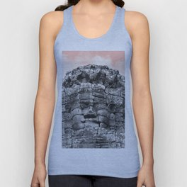 Buddha face with candy Unisex Tank Top