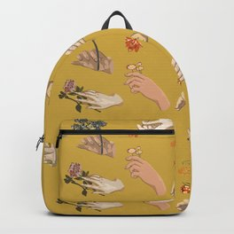 Hands in Art History Backpack