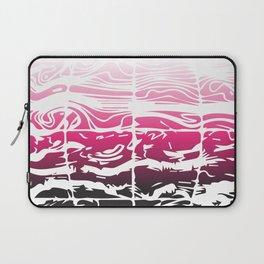 Pink Earth Wind Laptop Sleeve