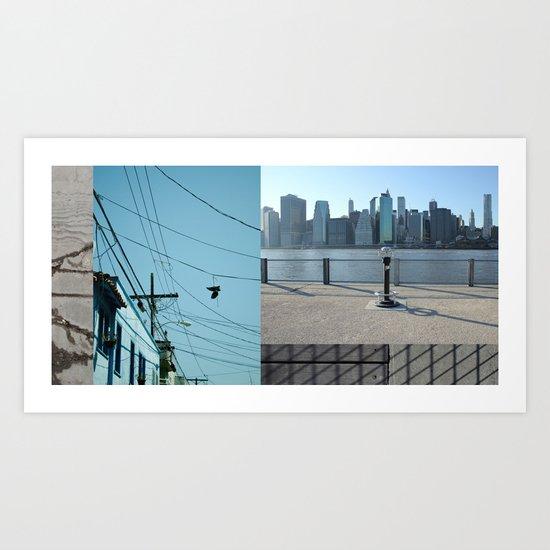 Up / Down / Across Art Print