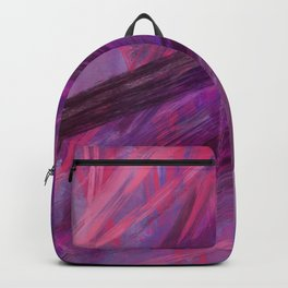 Positive vibes only - abstract painting Backpack