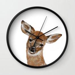 Baby Deer Wall Clock