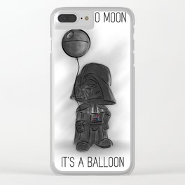 That's no moon Clear iPhone Case