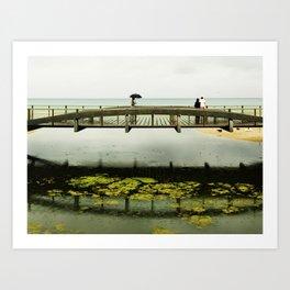 El puente Art Print