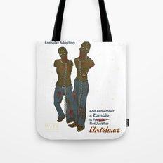 Adopt a Zombie PSA Tote Bag