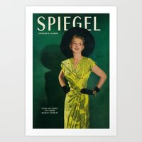1951 Spring/Summer Catalog Cover Art Print