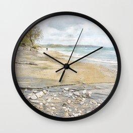 Winter Walk Wall Clock