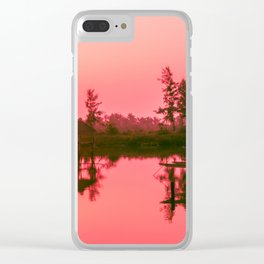 Sunrise over the Hoi An River, Vietnam Clear iPhone Case