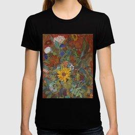 flower 2【Japanese painting】 T-shirt