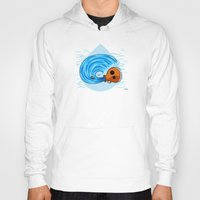 aquarius Hoodies featuring Aquarius by Giuseppe Lentini