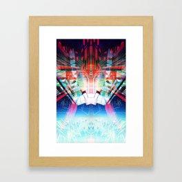 Return (Data Insertion) Framed Art Print