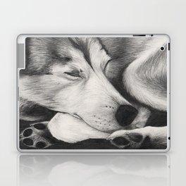 Sleeping Wolf Laptop & iPad Skin